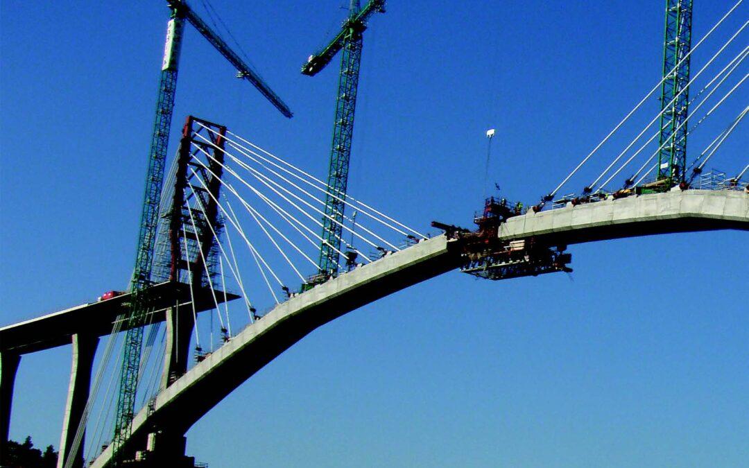 Puentes línea AVE Madrid – Valencia
